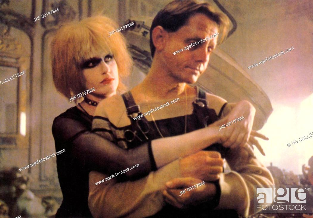 Stock Photo: movie, Blade Runner, USA 1982, director: Ridley Scott, scene with: Daryl Hannah, William Sanderson,.