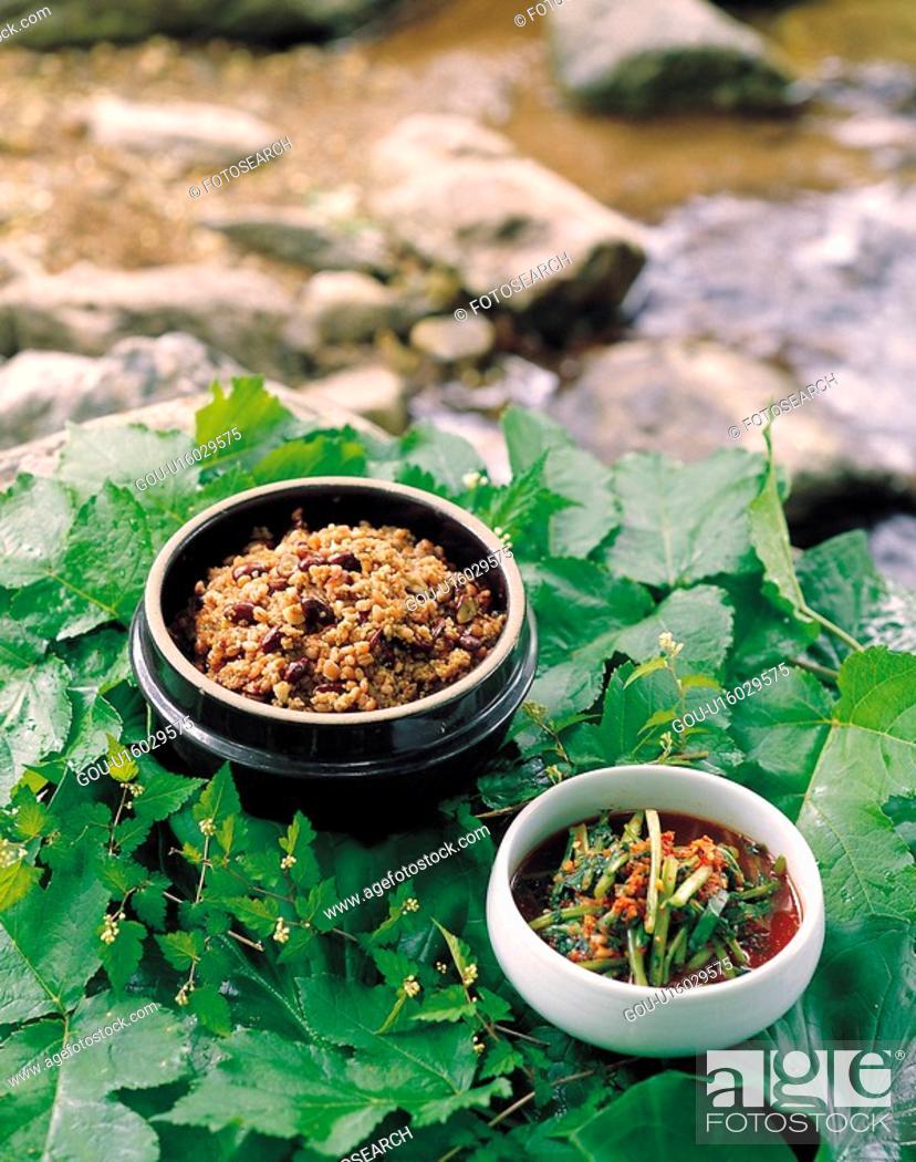 Stock Photo: Koreanfood, korean food, cuisine, food, fivecereals.