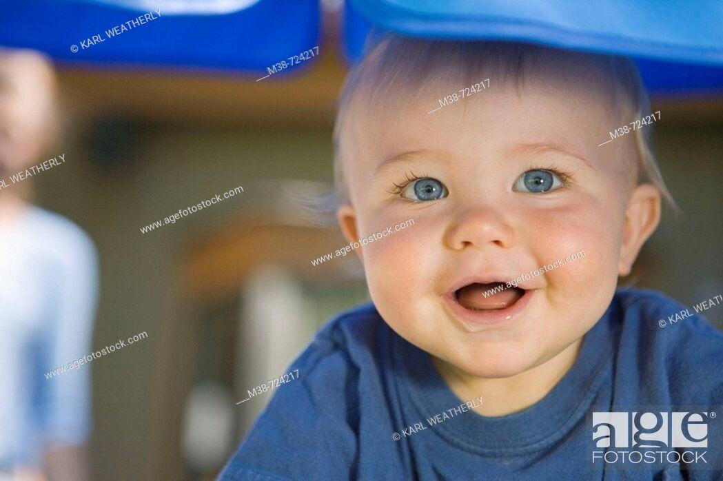 Stock Photo: Face of a boy.
