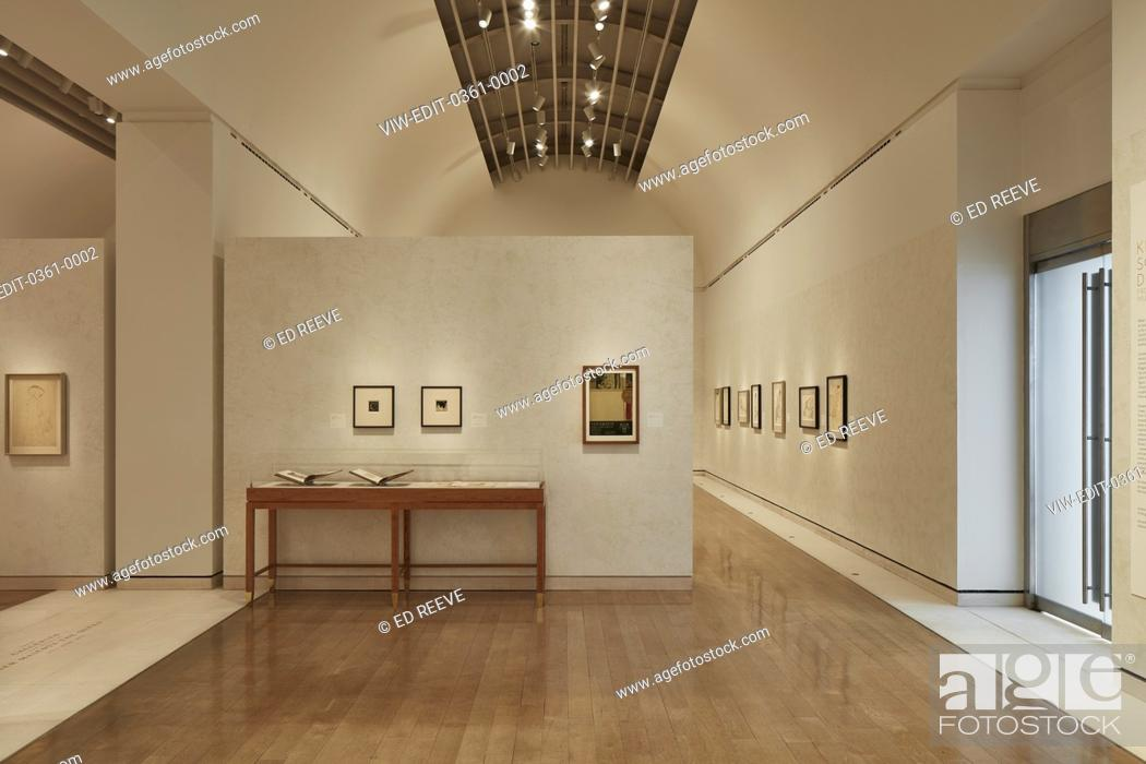 Photo de stock: Straight view of exhibition wall. Klimt Schiele Exhibition at the Royal Academy, London, United Kingdom. Architect: N/a, 2018.