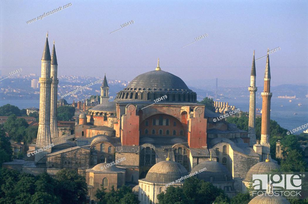 Stock Photo: St. Sophia Mosque. Istanbul. Turkey.