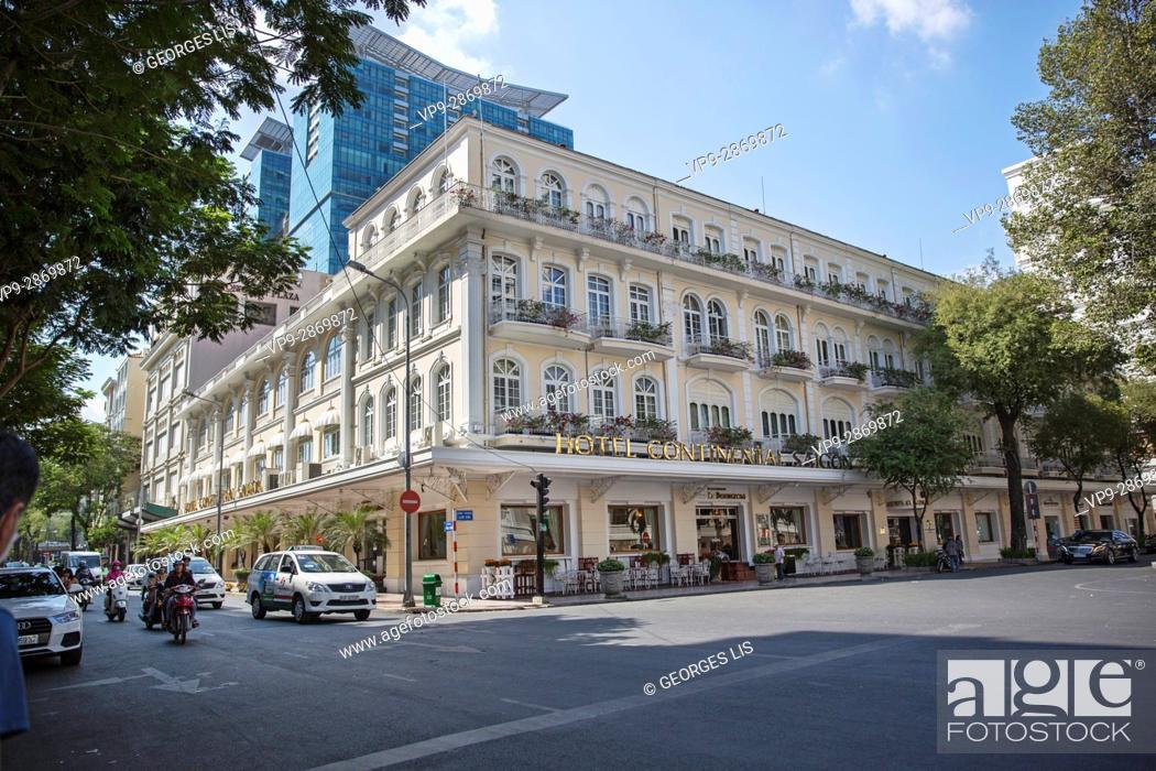 Imagen: Continental Hotel Saigon Ho Chi Minh Ville Vietnam.