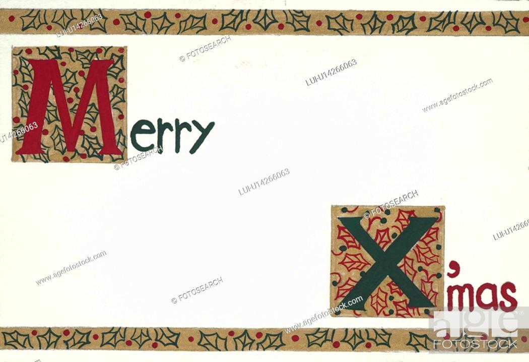 Stock Photo: Merry Xmas.