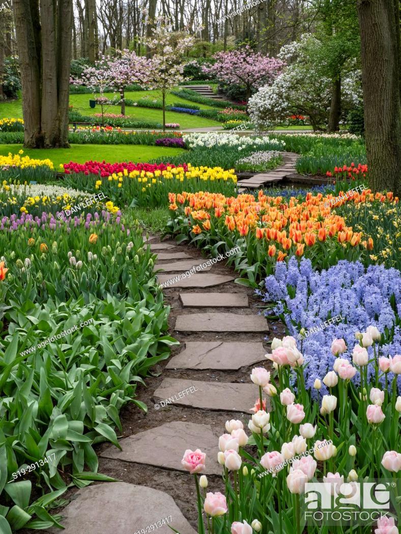 Imagen: Holland Keukenhof Gardens.