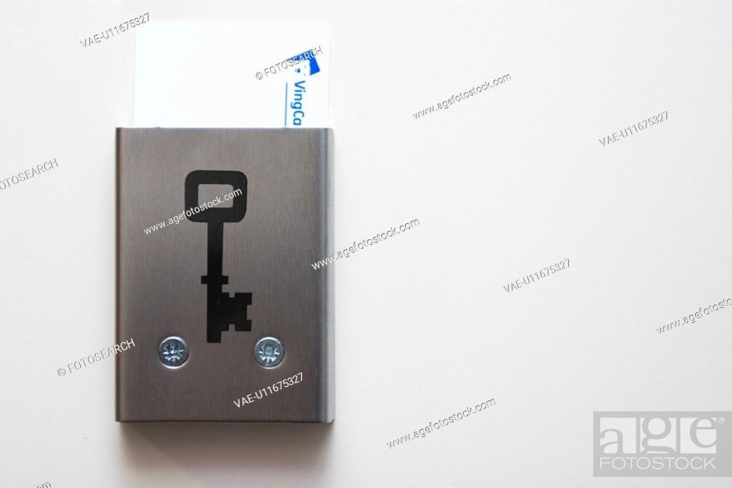 Stock Photo: door, metal, slot, plate, postal, delivery.