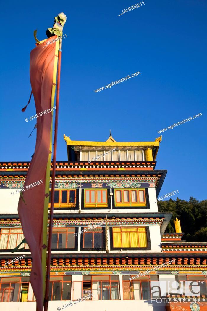 India West Bengal Darjeeling Druk Sangag Choeling Monastery Dali