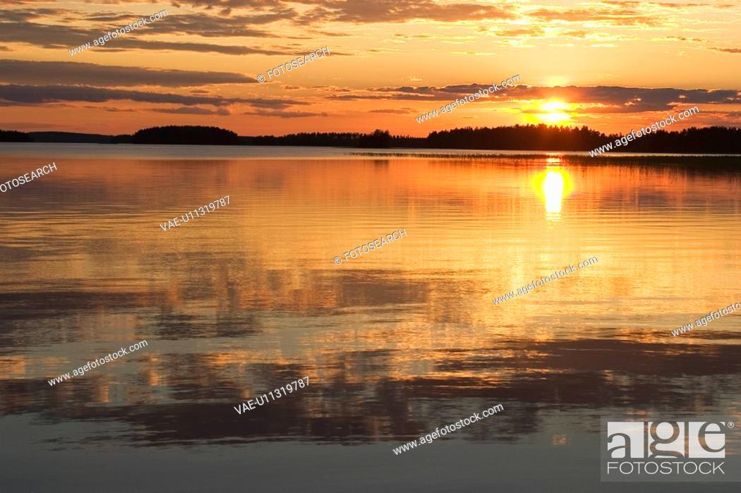 Stock Photo: Calm, Clouds, Dawn, Day, Dusk.