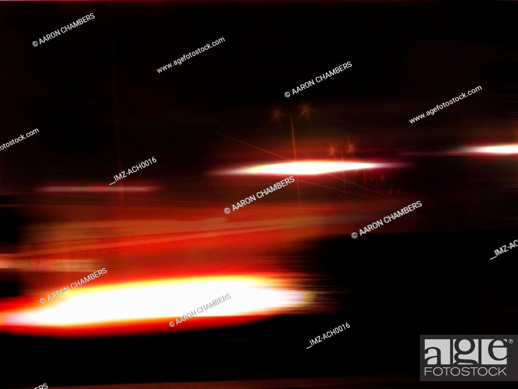 Stock Photo: An graphical illustration of glow and glare.