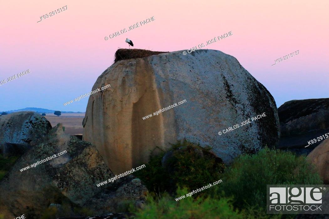 Imagen: Monumento Natural de los Barruecos, Caceres, Extremadura, Spain.