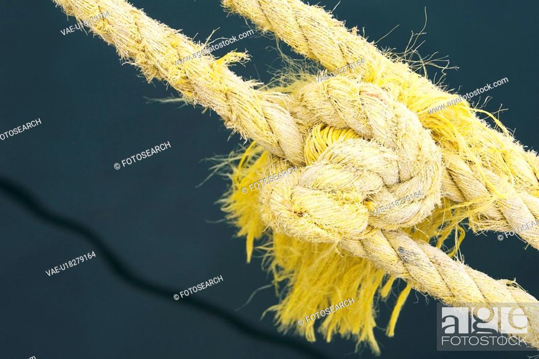Stock Photo: Braided, Day, Fibers, Knot.