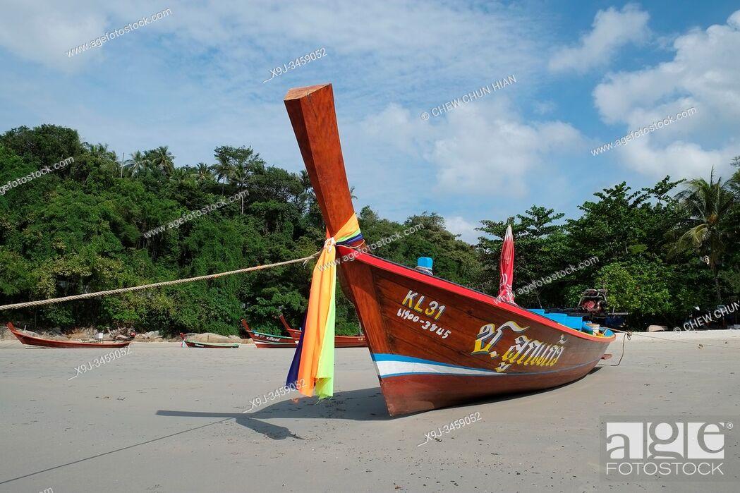 Stock Photo: Kata Beach, Ban Karon, Phuket, Thailand.