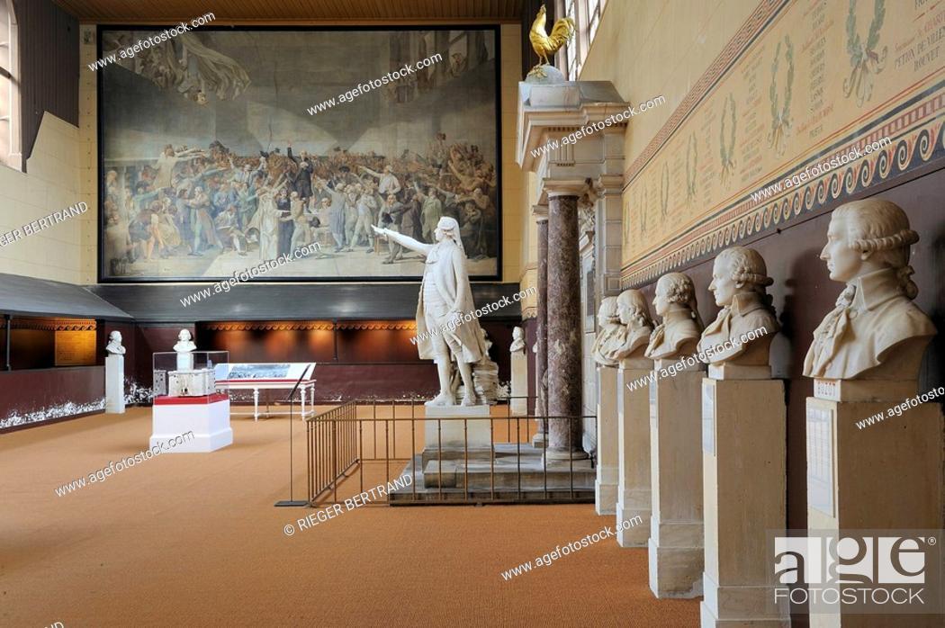 France Yvelines Versailles Salle Du Jeu De Paume Where The