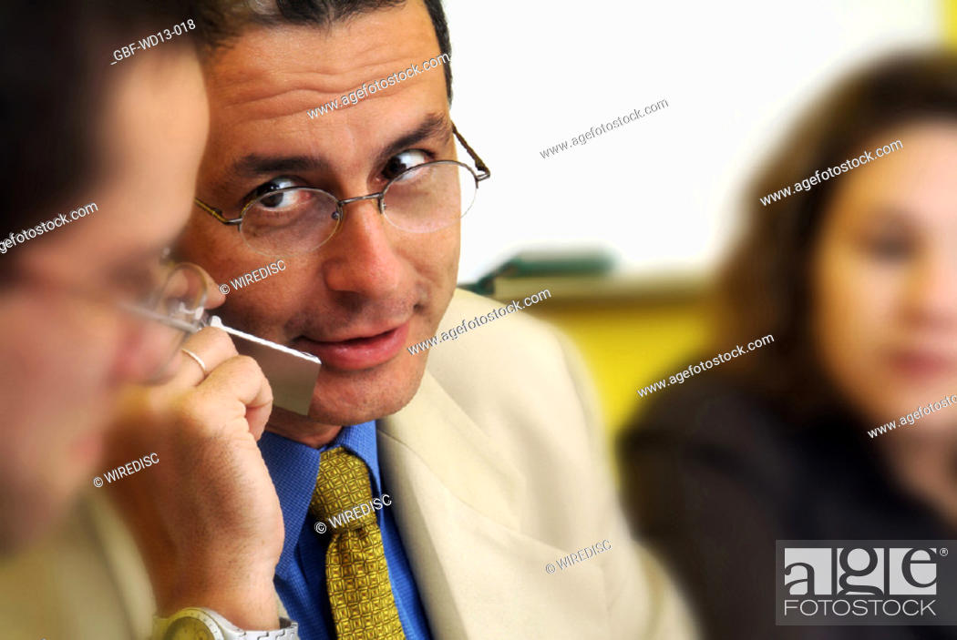 Stock Photo: Businesseman, man, woman, executive, Brazil.