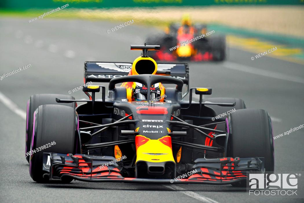Daniel Ricciardo In The Aston Martin Red Bull Car At The Formula One Australian Grand Prix Foto De Stock Imagen Derechos Protegidos Pic Wen 33982246 Agefotostock