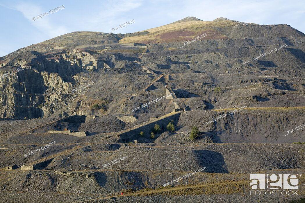 Stock Photo: Gorsaf Gynhyrchu Dinorwig Power Plant, Llanberis; Snowdonia; Wales; UK.