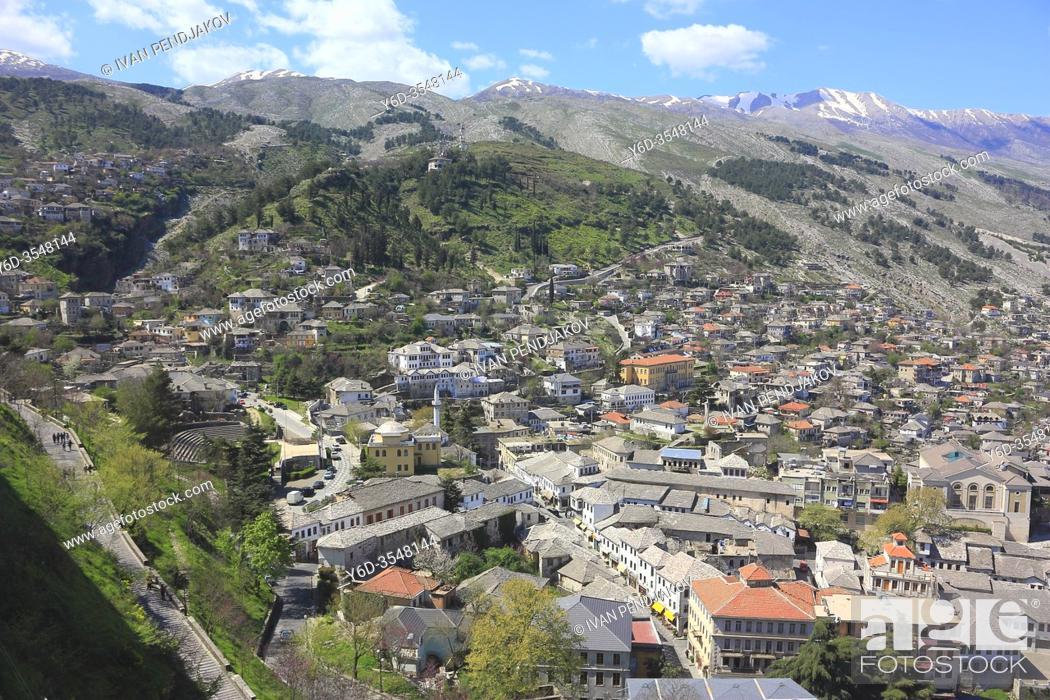 Imagen: Gjirokaster, Albania.