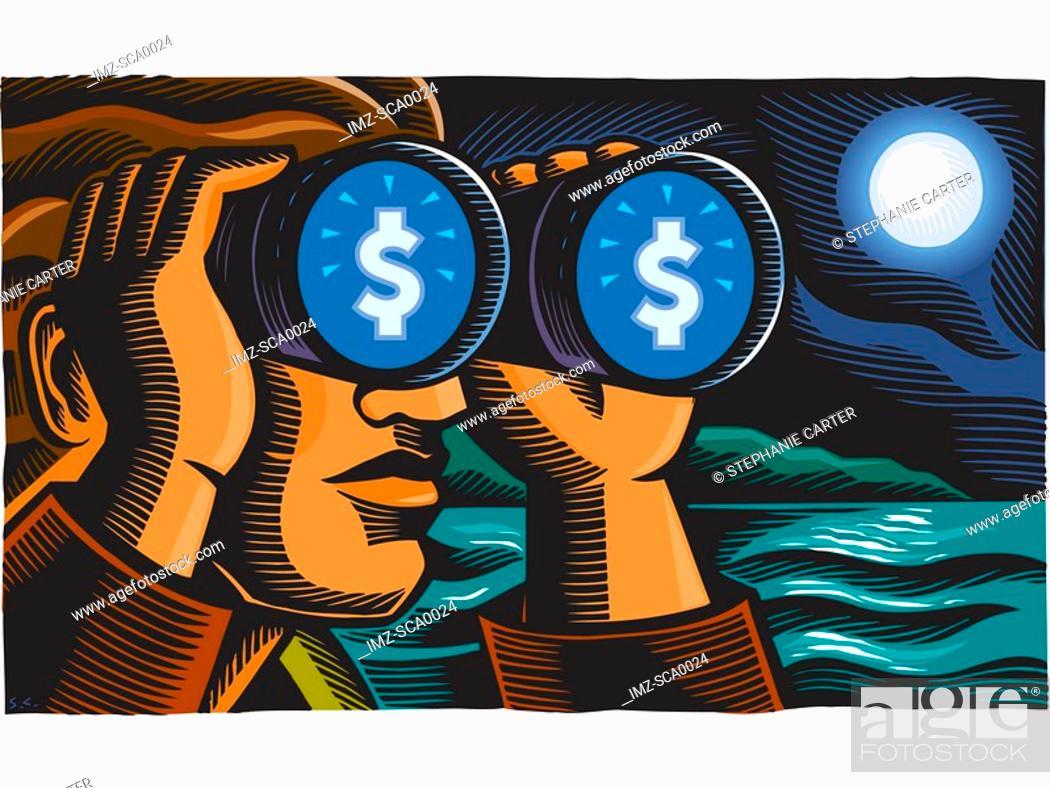 Stock Photo: financial forecasting.