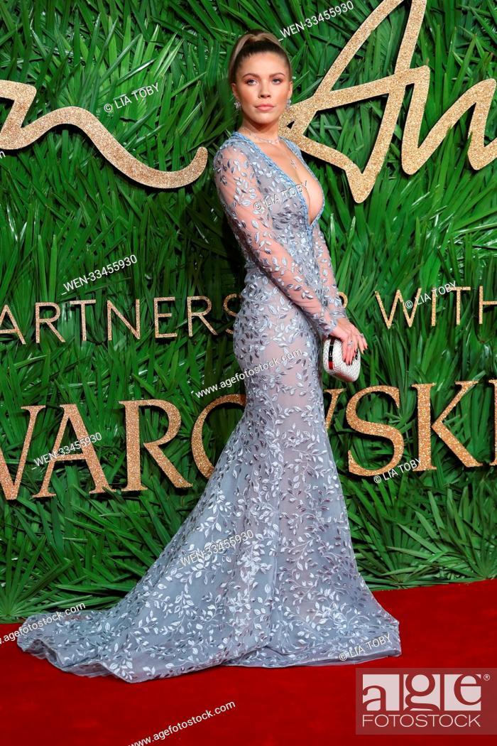 68629884b Stock Photo - The British Fashion Awards held at the Royal Albert Hall -  Arrivals Featuring: Victoria Swarovski Where: London, United Kingdom When:  04 Dec ...