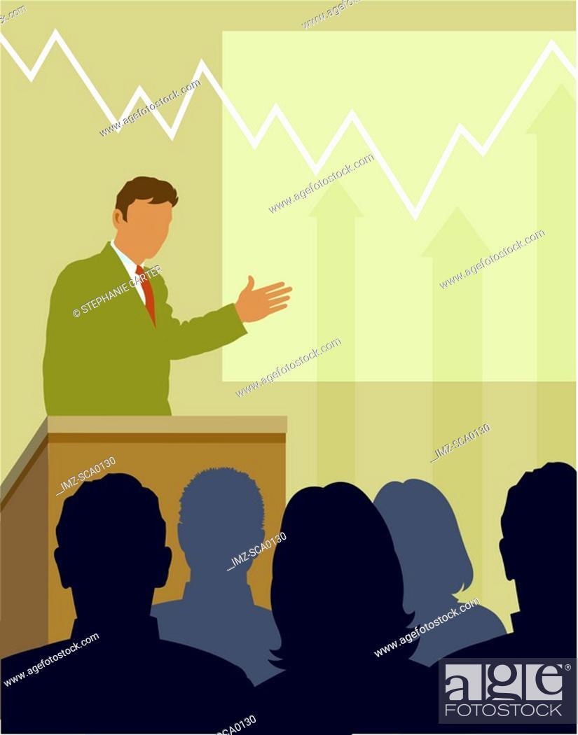 Stock Photo: financial forecast.