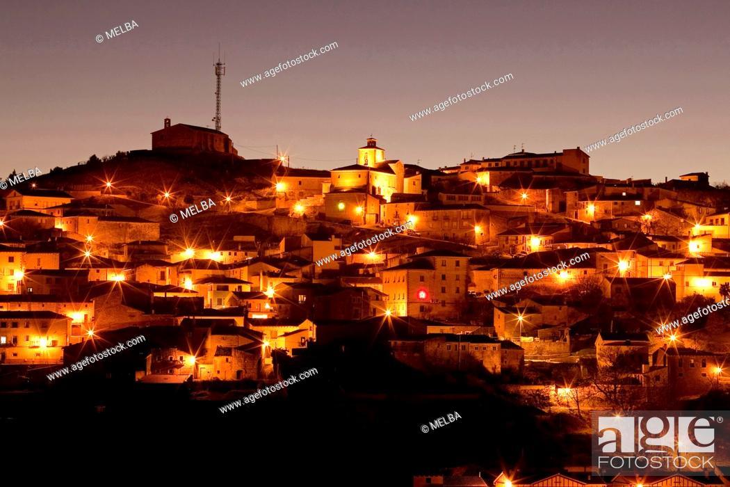 Stock Photo: Pueyo, Navarre. Spain.