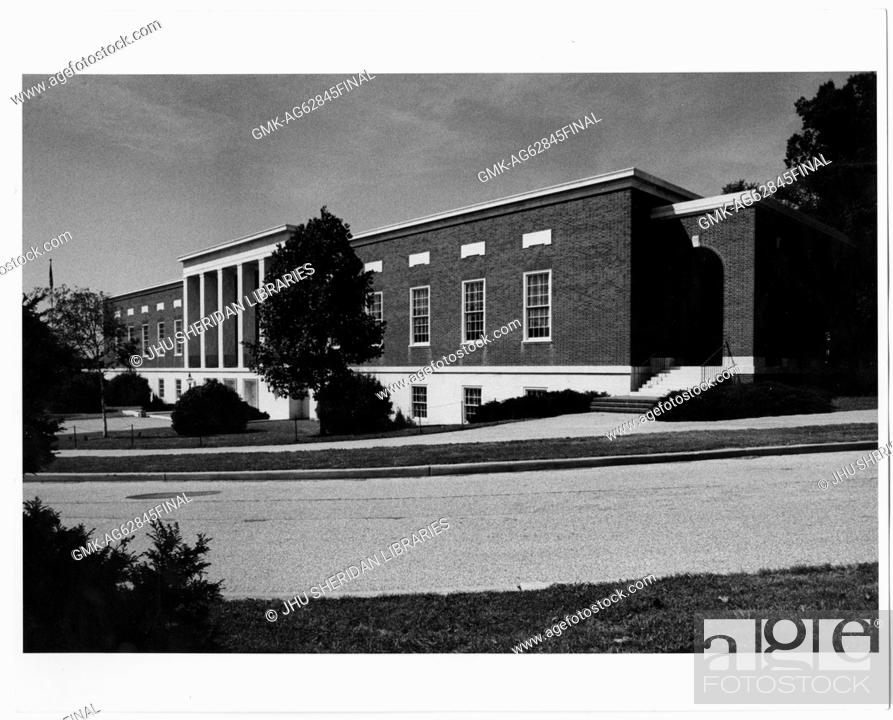 Imagen: Buildings General, Homewood MSE Library exterior, 1990.