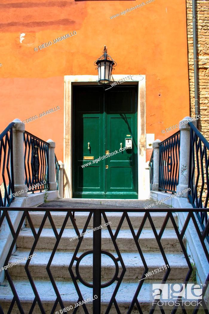 Imagen: Architectural Detail, Venice, Veneto, Italy, Western Europe.