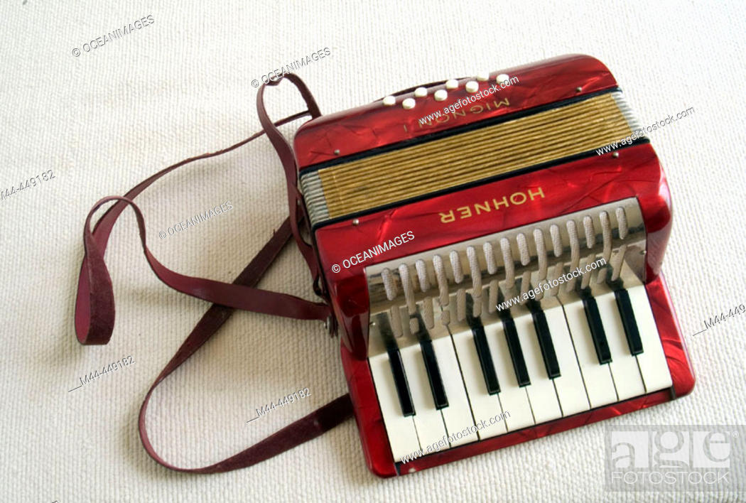 Stock Photo: Accordion.