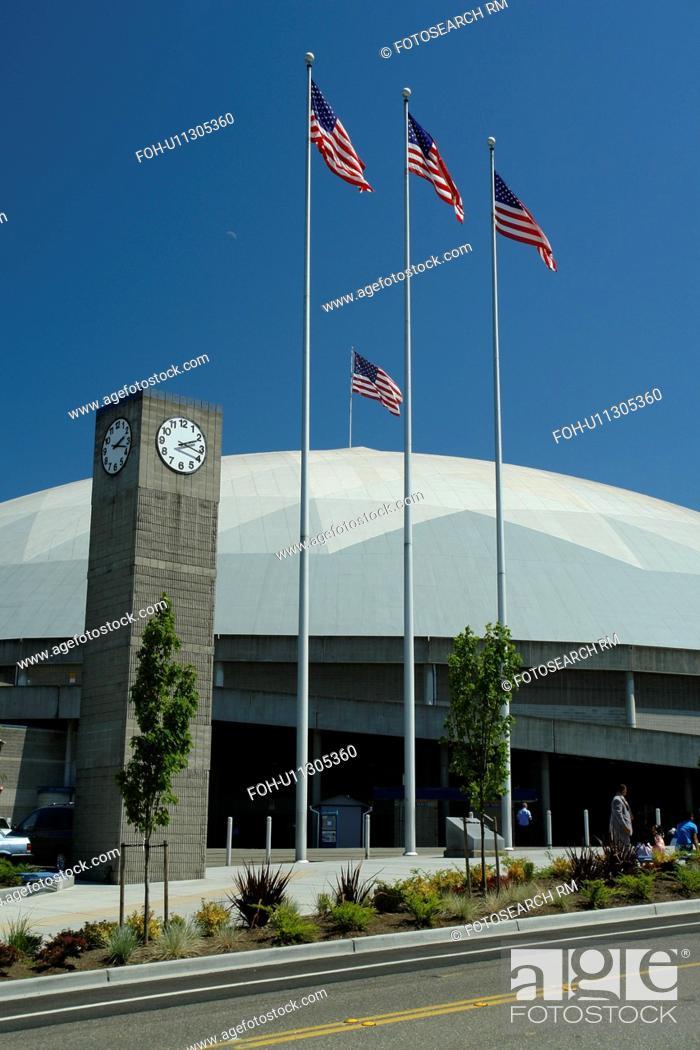 Stock Photo: Tacoma, WA, Washington, Tacoma Dome and Exhibition Hall.