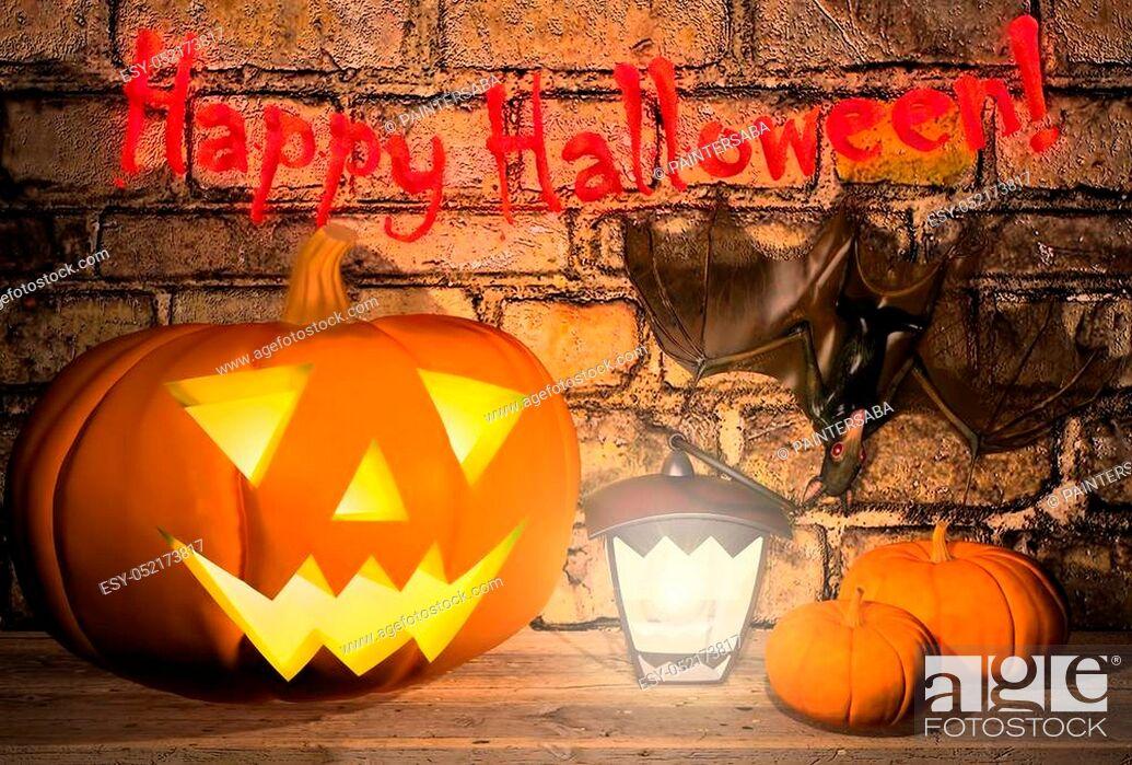 """Stock Photo: """"""""""""""""""""Happy Halloween! """"""""""""""""""""."""