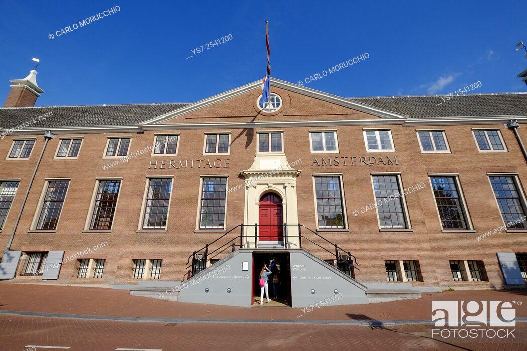 Stock Photo: Hermitage Amsterdam, Amsterdam, The Netherlands, Europe.