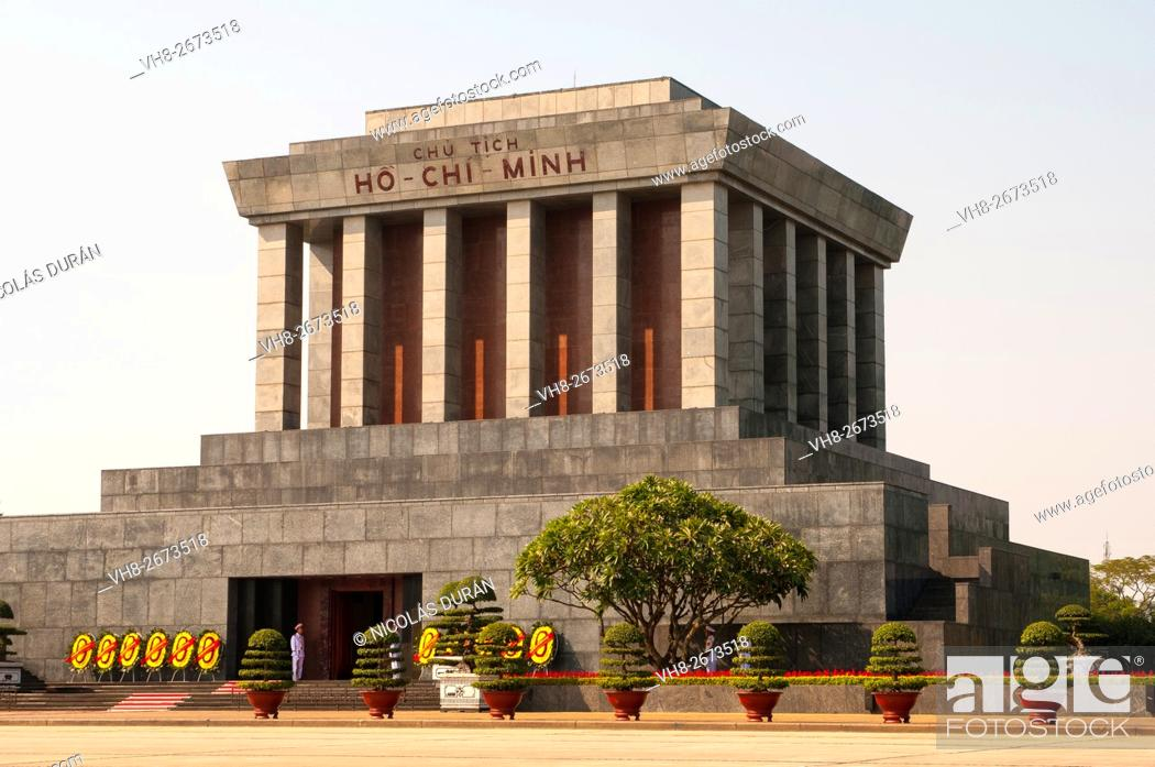 Imagen: Ho Chi Minh Mausoleum. Hanoi. Vietnam.