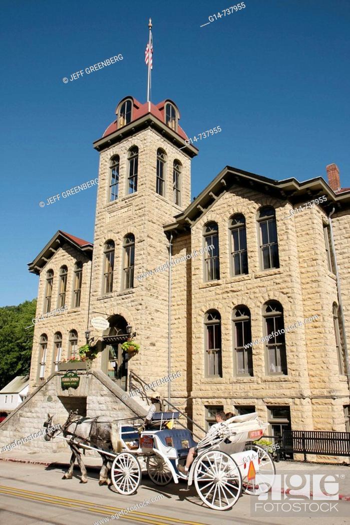 Arkansas, Eureka Springs, Carroll County Courthouse, built