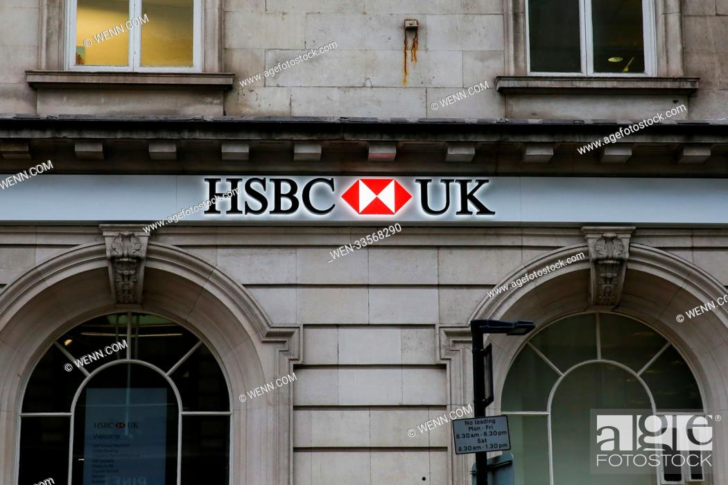 An exterior view of HSBC Bank in Bond Street, London