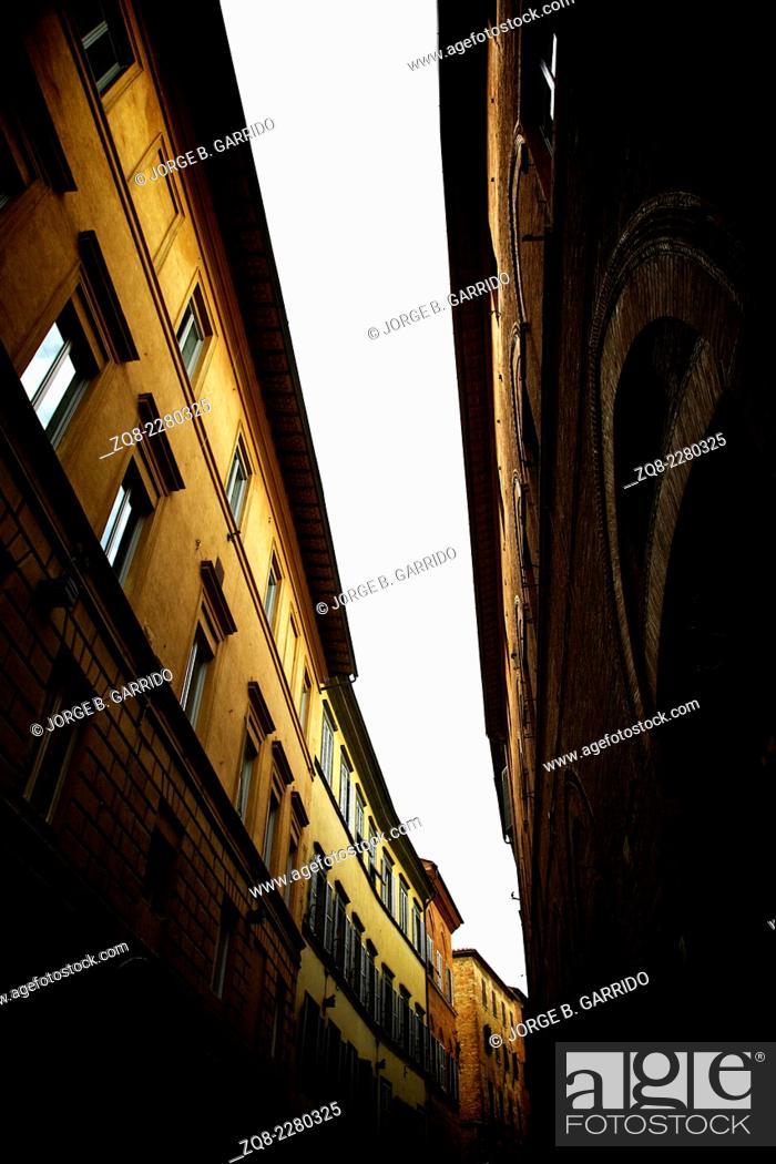 Stock Photo: Siena, Italy.