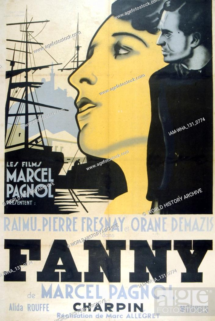Film Poster For Fanny A 1932 French Romance And Drama