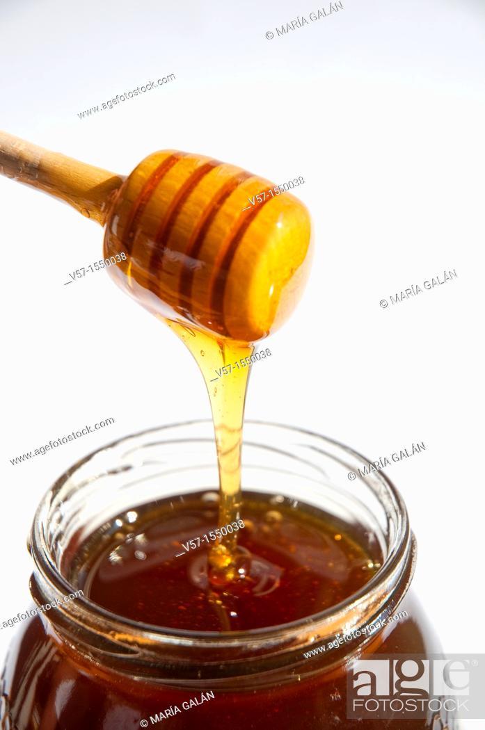Stock Photo: Honey.