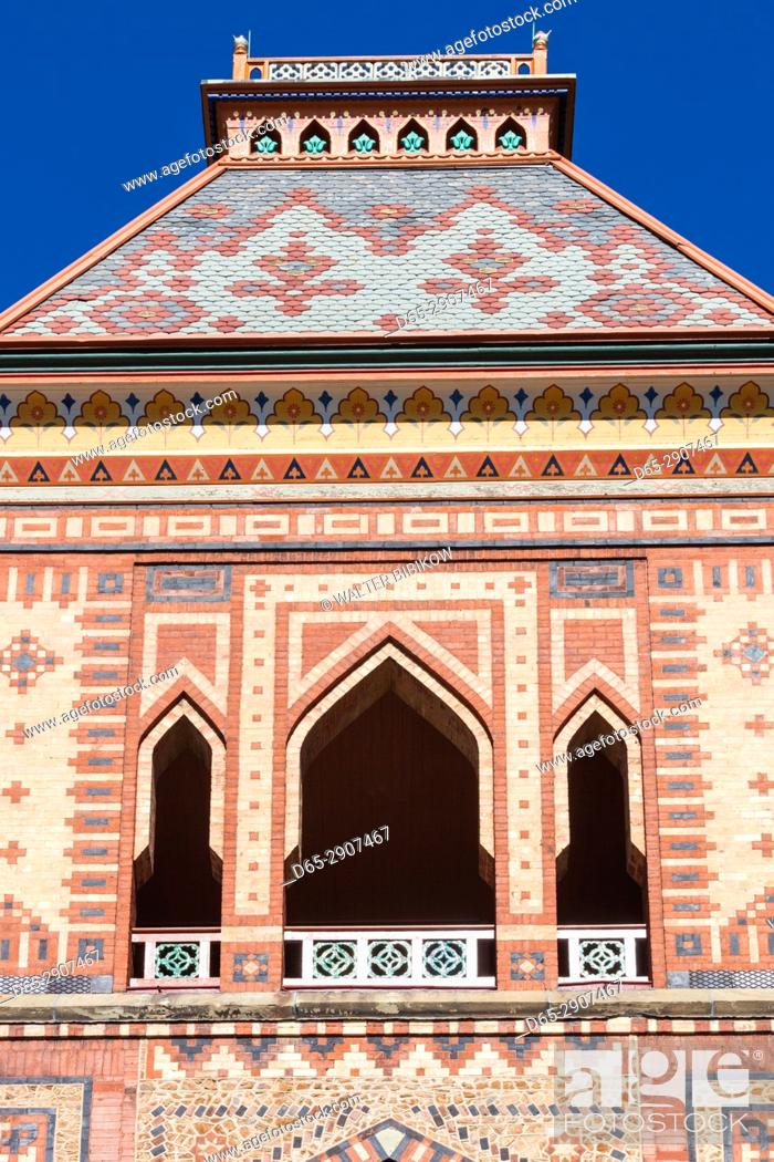 Imagen: USA, New York, Hudson Valley, Hudson, Olana State Historic Site, Persian-style former home of painter Frederic Edwin Church.