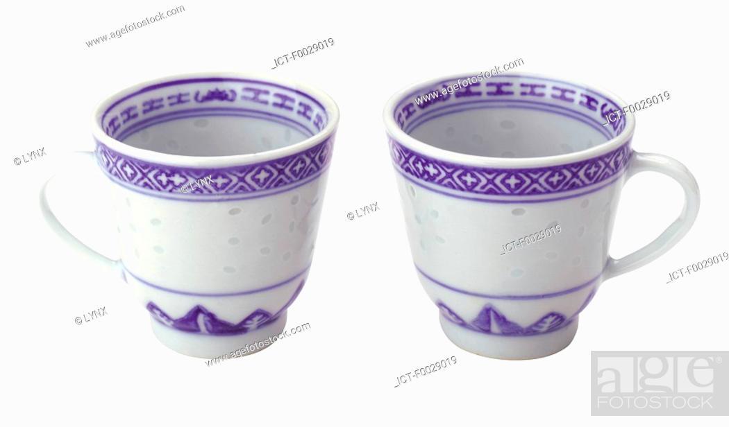 Stock Photo: World symbols: Tea cups China.