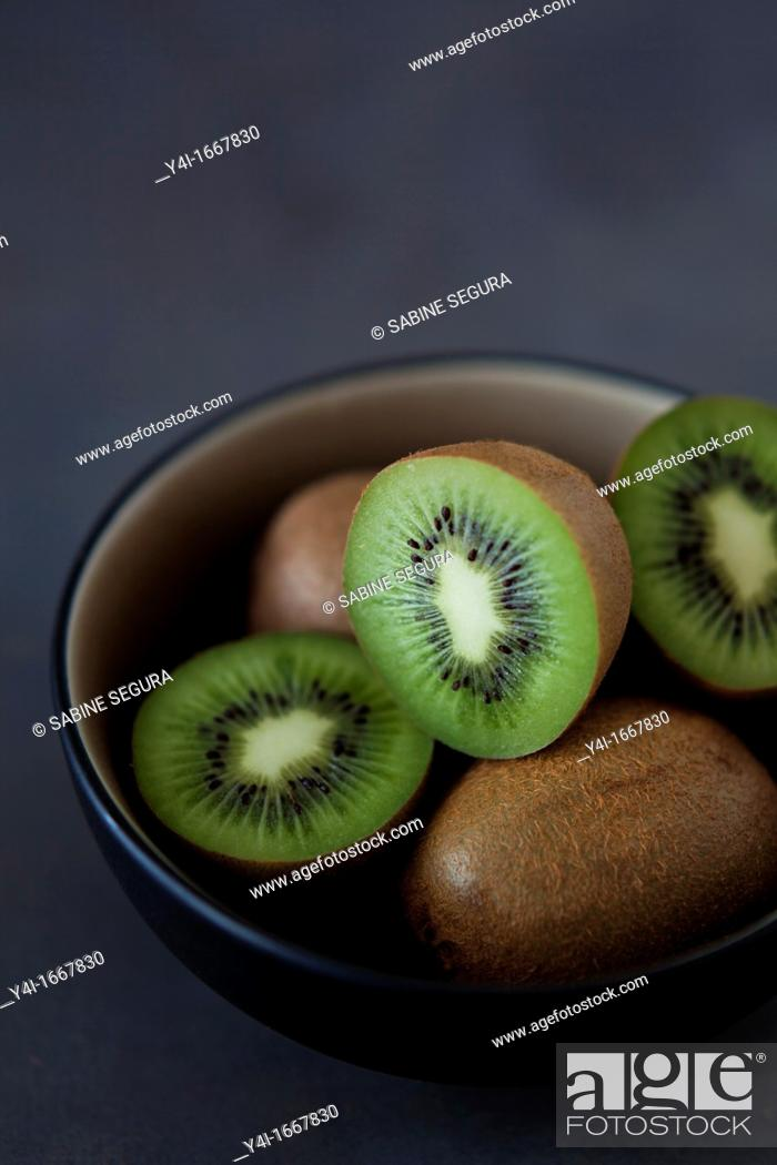 Stock Photo: Kiwi fruit.