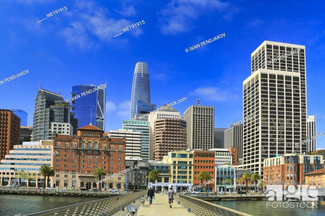 Imagen: San Francisco Downtown, California, USA.