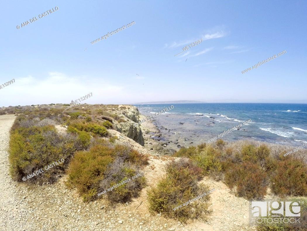 Stock Photo: Tabarca island in Alicante province Spain.