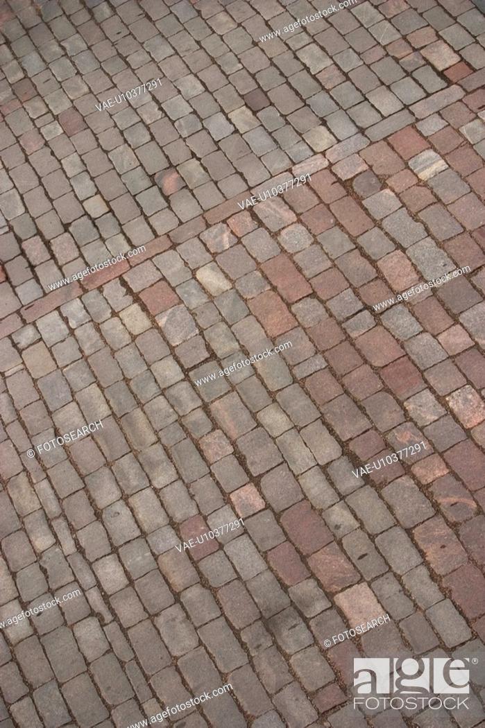 Stock Photo: Brick, Floor, Day, Architecture.