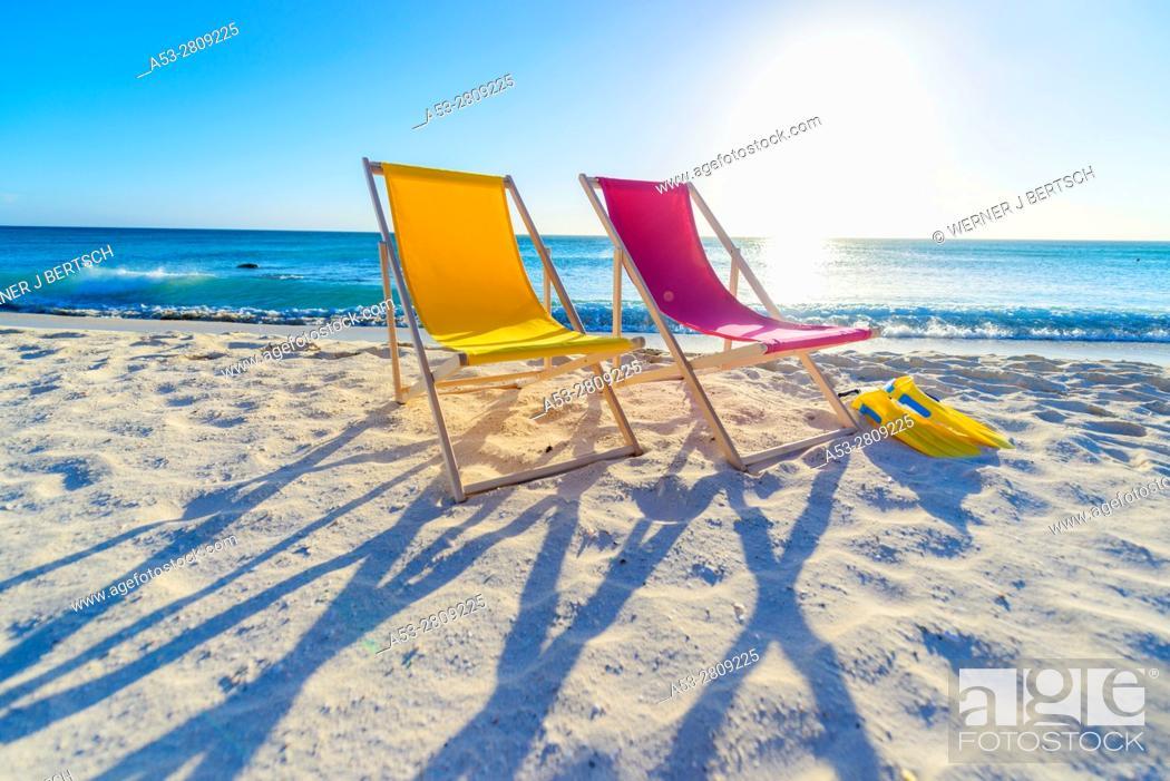 Stock Photo: Beach in Aruba.