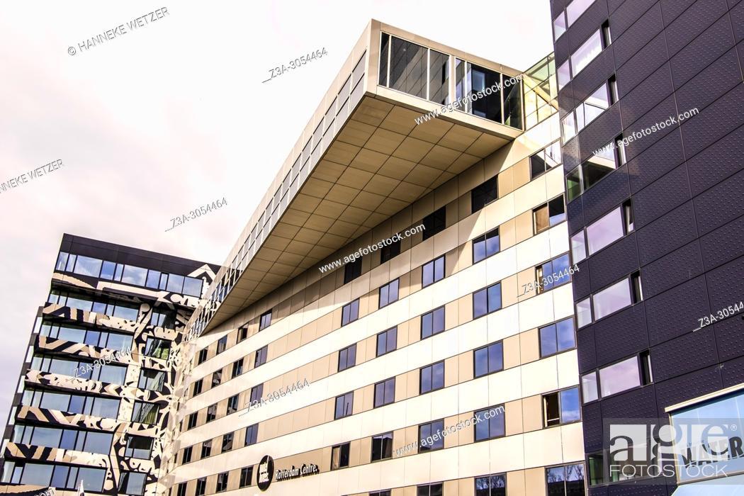 Photo de stock: Modern architecture in Rotterdam, The Netherlands, Europe.