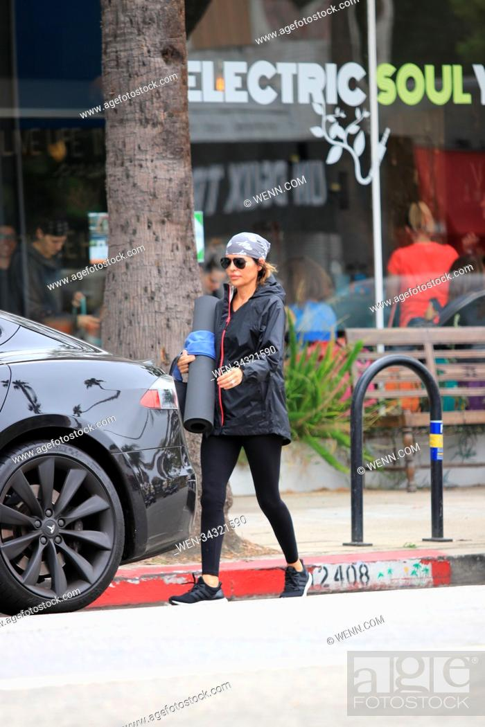 Stock Photo: Lisa Rinna leaving yoga in Studio City, United States Featuring: Lisa Rinna Where: Studio City, California, United States When: 30 May 2018 Credit: WENN.