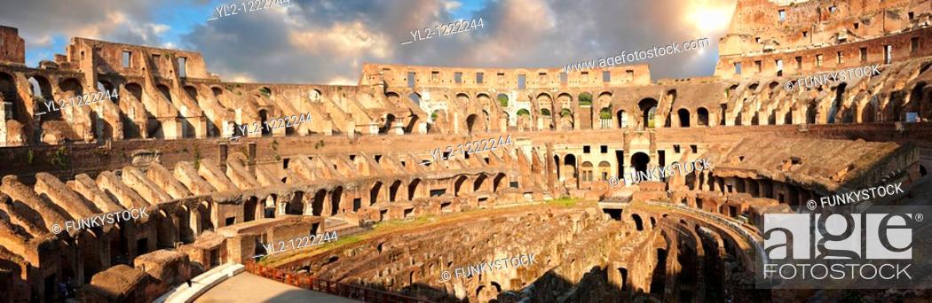 Stock Photo: Coloseum  Colosseo  Rome.