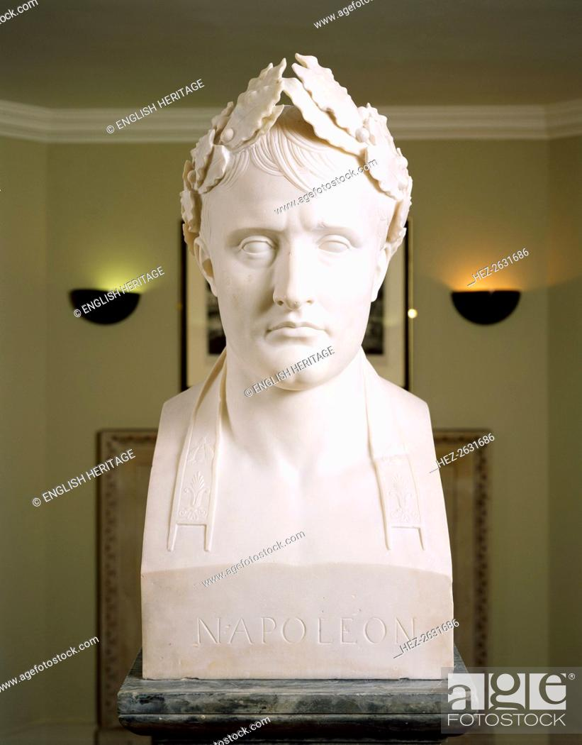 Stock Photo: Bust of Napoleon as Emperor of France, c2000s. Artist: Historic England Staff Photographer.