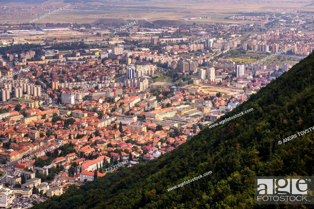 Stock Photo: Brasov is a city in Romania.
