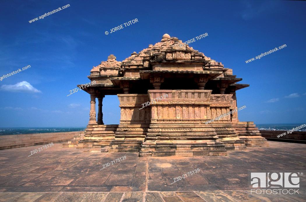 Imagen: Sas Bahu Temples, Gwalior Fort, Madhya Pradesh, India.