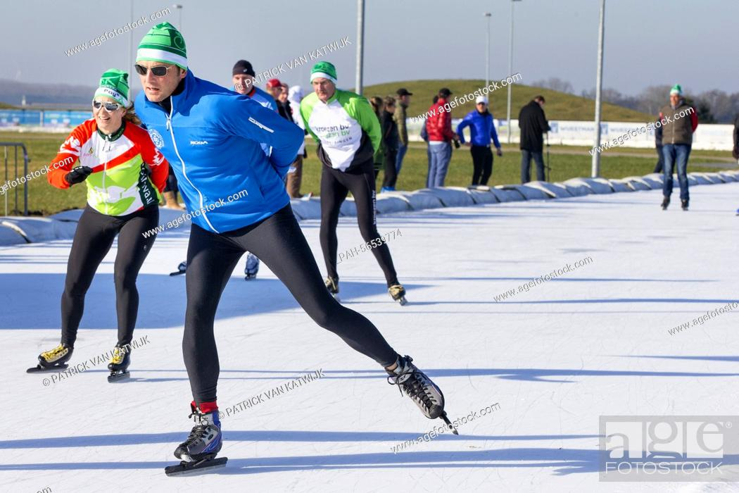Stock Photo: Prince Maurits of The Netherlands attends the charity race Hollandse 100 to raise money for the foundation against lymphoma Lymph & Co.